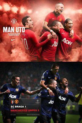 Bức ảnh PTS khá bá đạo của BLĐ Man United