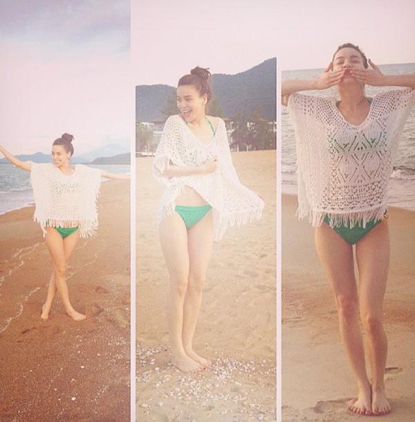 Hồ Ngọc Hà khoe ảnh bikini hiếm hoi,Cao Thái Sơn