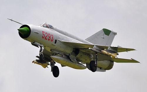 Máy bay MiG-21 của Không quân Việt Nam
