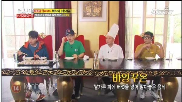 """Tập """"Running Man"""" quay ở Việt Nam đã lên sóng Hàn Quốc 2"""