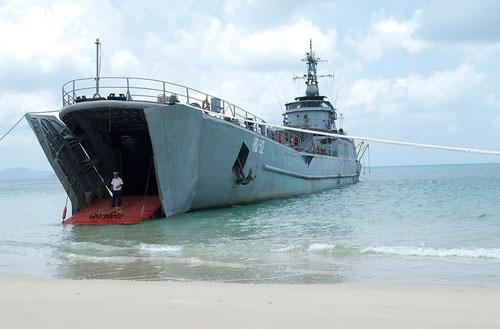 Tàu đổ bộ của Hải quân Việt Nam