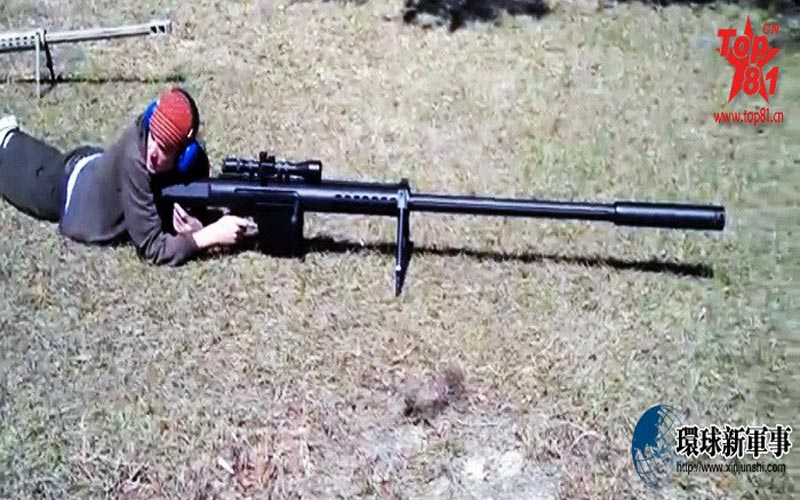"""""""Người khổng lồ"""" bắn tỉa của quân đội Mỹ"""