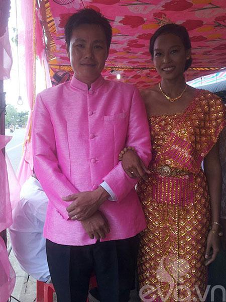 Đám cưới Khmer của HH biển Lâm Thu Hằng - 1
