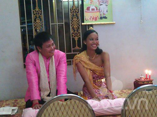 Đám cưới Khmer của HH biển Lâm Thu Hằng - 4