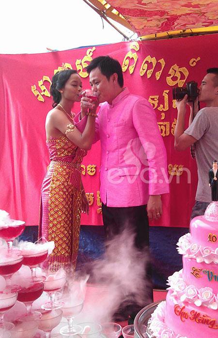 Đám cưới Khmer của HH biển Lâm Thu Hằng - 6