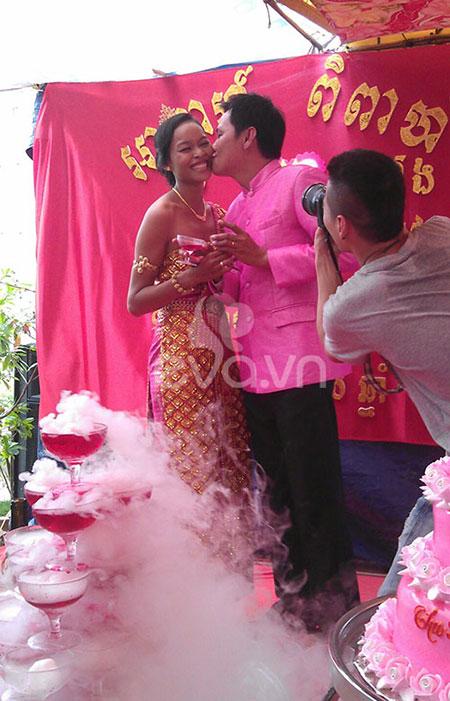 Đám cưới Khmer của HH biển Lâm Thu Hằng - 7