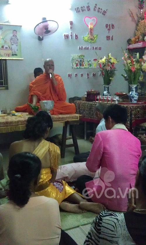 Đám cưới Khmer của HH biển Lâm Thu Hằng - 8