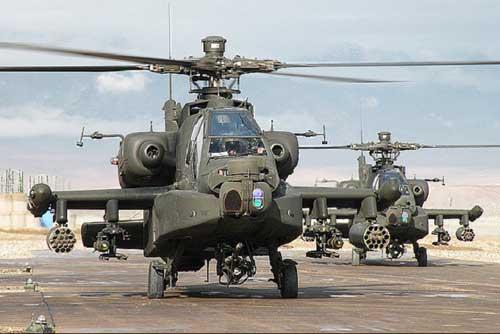 Những chiếc trực thăng tấn công hiện đại AH-64 Apache được phát triển từ những kinh nghiệm xương máu tại chiến trường Việt Nam.