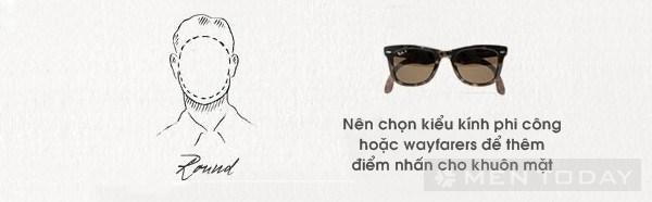 Chọn kính mắt phù hợp với gương mặt  2