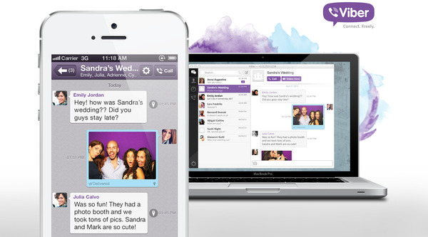 Phiên bản Viber 3.0 đã hỗ trợ trên cả PC và smartphone