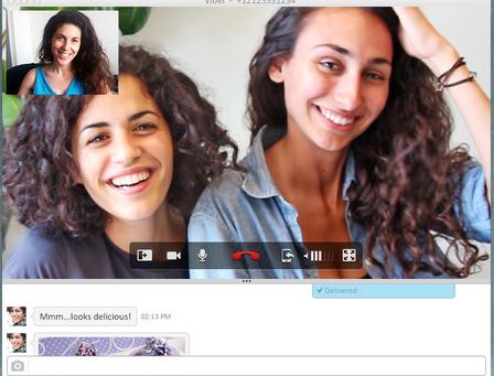 Hỗ trợ video chat (sử dụng webcam của máy tính)