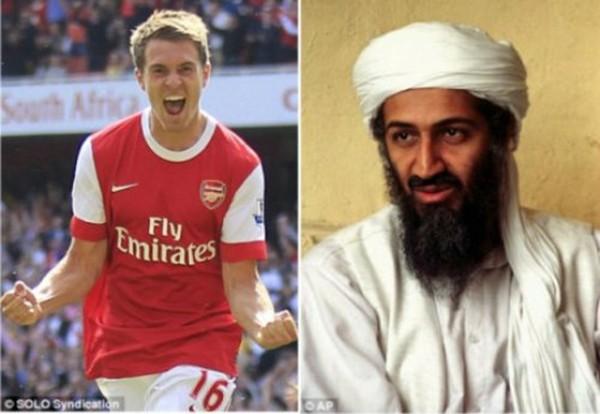"""Thần chết"""" Ramsey ghi bàn khiến... Beckham nghỉ hưu 1"""