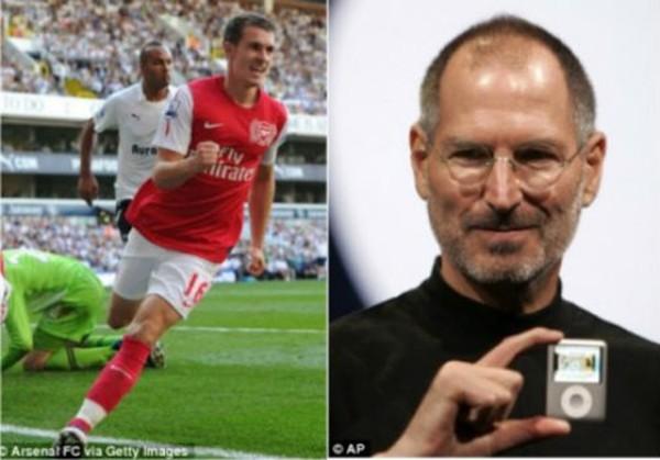 """Thần chết"""" Ramsey ghi bàn khiến... Beckham nghỉ hưu 2"""