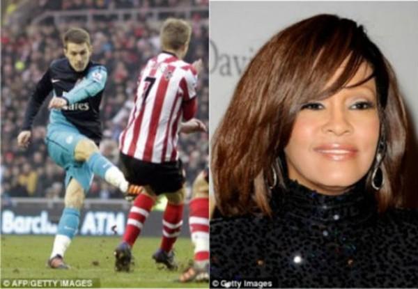 """Thần chết"""" Ramsey ghi bàn khiến... Beckham nghỉ hưu 4"""
