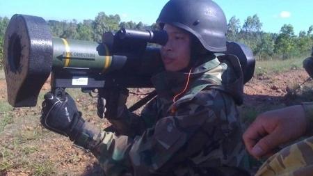 'Sát thủ' diệt tăng mới của lực lượng hải quân đánh bộ Việt Nam
