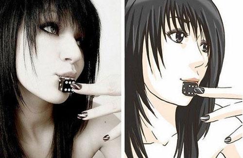 Còn bạn, bạn có thích trào lưu chụp ảnh giống nhân vật truyện tranh Nhật Bản như thế này không?
