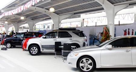 ô tô, giảm giá, nhập khẩu, thuế suất, nguyên chiếc, lắp ráp, linh kiện.
