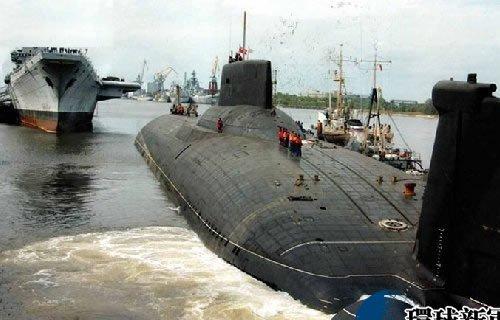 Tàu ngầm lớp Typhoon của Nga