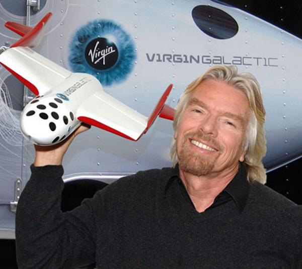 Tỷ phú Richard Branson và cách làm giàu khác thường