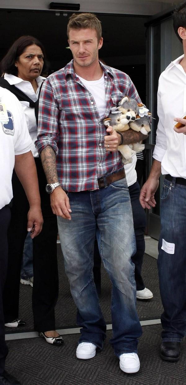 Bí quyết diện jeans của Beckham 13