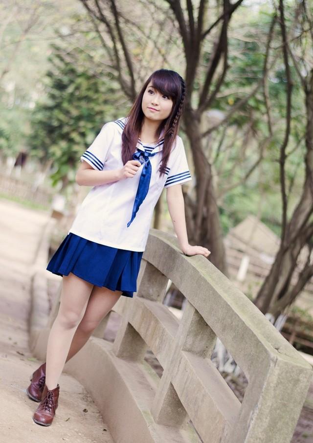 Kết quả hình ảnh cho Đồng Phục Nữ Sinh Nhật Bản Đẹp