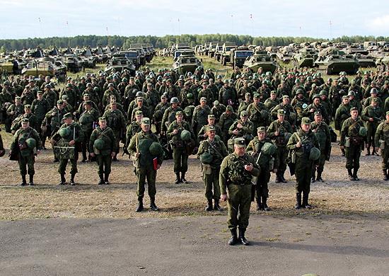 Cuộc tập trận huy động đến 160 nghìn quân nhân, 5000 xe tăng và thiết giáp
