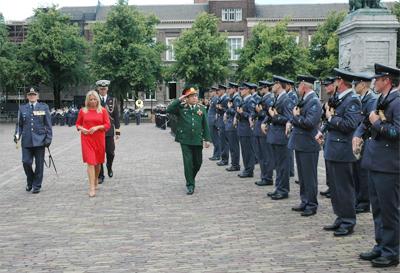 Bước phát triển mới của hợp tác quốc phòng Việt Nam - Hà Lan