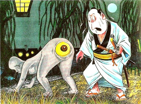 Những con ma vui nhộn trong truyền thuyết Nhật Bản 1
