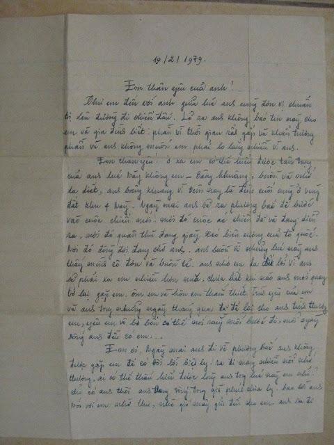 Lá thư người lính biên giới phía Bắc đến tay bạn gái sau 34 năm