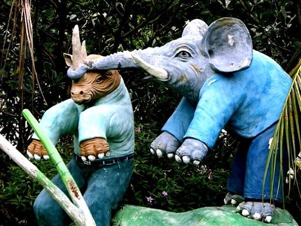 """Những khu vườn tượng ma quái khiến bạn """"choáng váng"""" 14"""