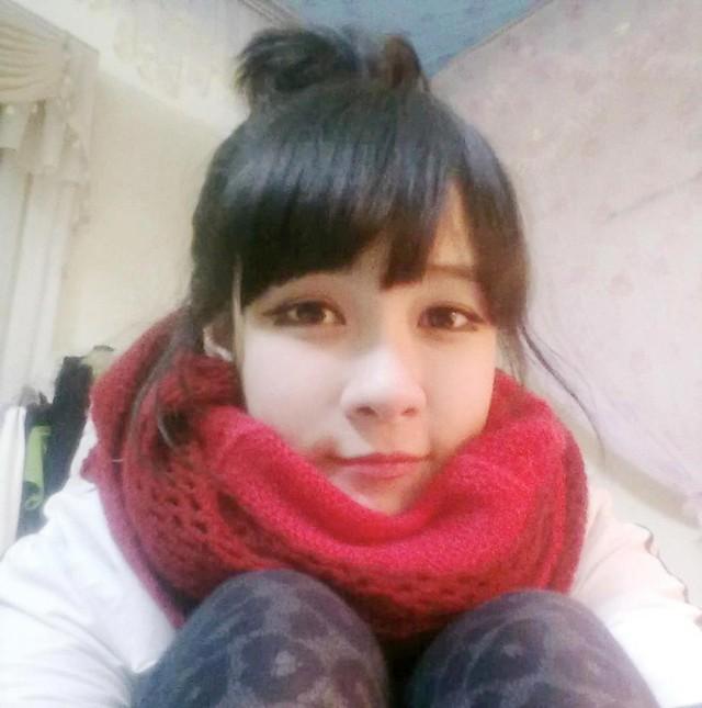 Ngất ngây sơn nữ Mộc Châu có khuôn mặt xinh như búp bê