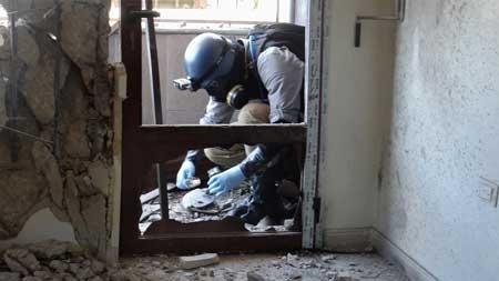 Syria, vũ khí hóa học