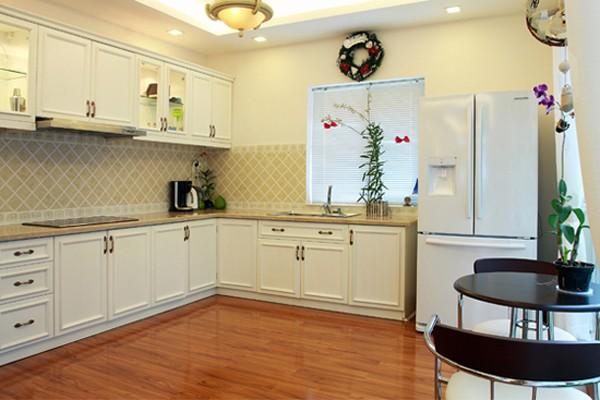 Căn bếp đem lại sức khỏe và hòa khí cho gia chủ 5