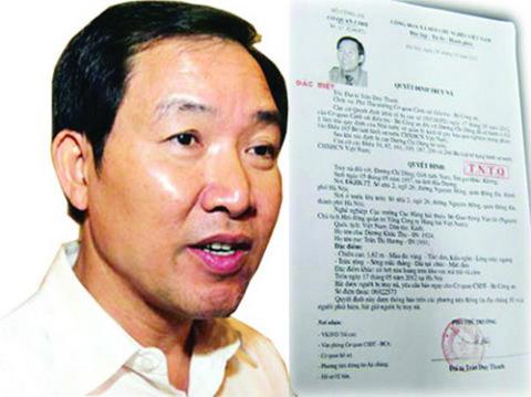 Dương Chí Dũng bị bắt ngày 4/9/2012, sau gần 3 tháng lẩn trốn và bị truy nã quốc tế.