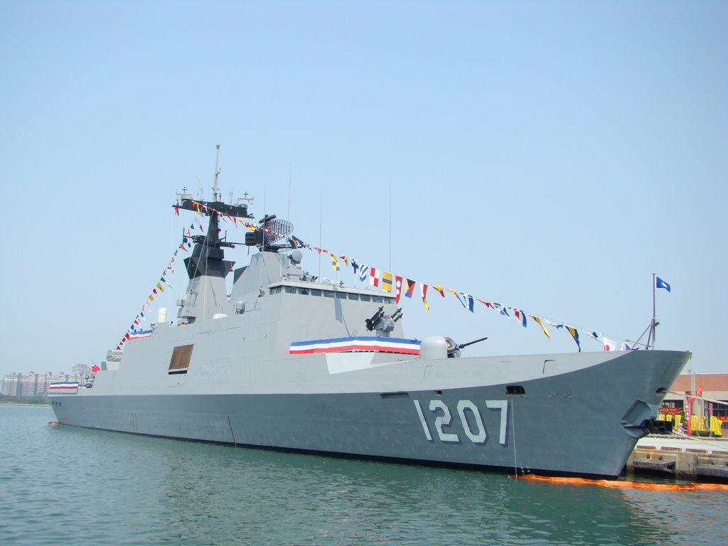 Phần lớn chiến hạm của Đài Loan là tàu cỡ nhỏ