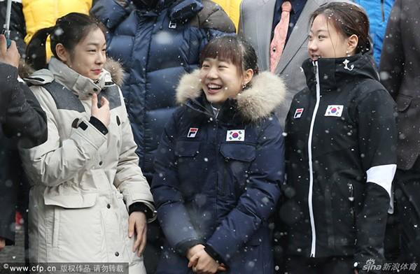 """Nữ hoàng trượt băng Kim Yuna """"phát khóc"""" vì rét 3"""