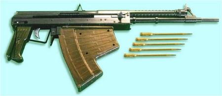 Súng, đạn chuyên dùng cho lực lượng người nhái có cấu tạo đặc biệt