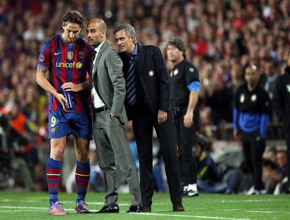 Mourinho bày trò với Pep