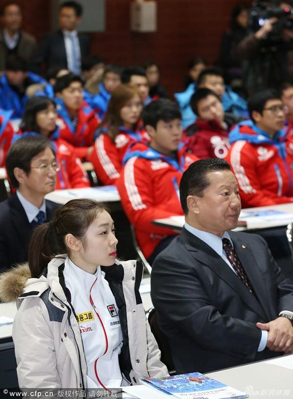 """Nữ hoàng trượt băng Kim Yuna """"phát khóc"""" vì rét 7"""
