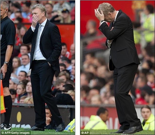 David Moyes đang phải chịu nhiều áp lực khi Man United thua trận nhưng công bằng mà nói, HLV này đã tạo ra những biến đổi đáng kể tại Old Trafford