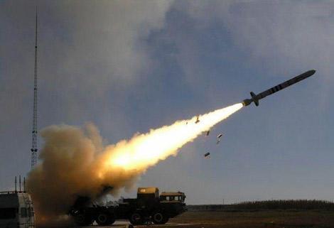 Bức ảnh được cho là cảnh bắn thử tên lửa CJ-10