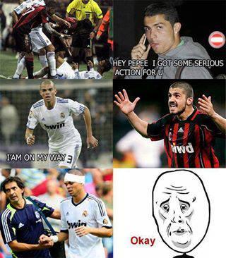 Pepe đòi chơi với Gattuso ư?