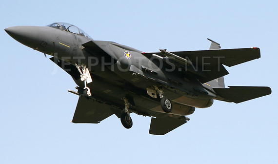 F-15E Strike Eagle (Đại bàng Tấn công) do hãng McDonnell Douglas (Mỹ) nghiên cứu phát triển là kiểu máy bay tiêm kích tấn công của Hoa Kỳ hoạt động trong mọi thời tiết, được thiết kế để can thiệp tầm xa các mục tiêu mặt đất sâu trong lãnh thổ đối phương.