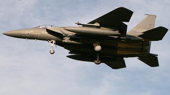 F-15K Slam Eagle (tiếng Hàn: F-15K 슬램이글 ) là một phiên bản nâng cao của F-15E dành cho Không quân Hàn Quốc.