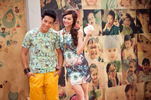 Linh Sơn, Kiều Ngân trong bộ ảnh thời trang Hè.
