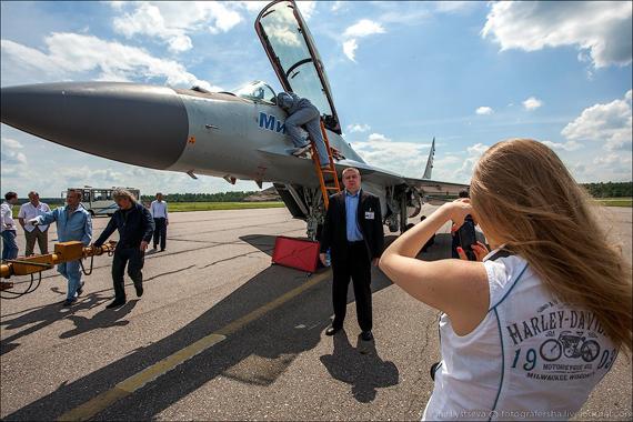 Xem Su-35, MiG-35, Yak-130 trình diễn tại Lukhovitsy