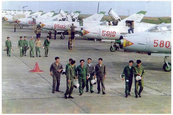 Máy bay cường kích Su-22 của Không quân nhân dân Việt Nam