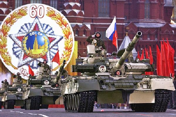Xe tăng chiến đấu chủ lực T-80U vừa
