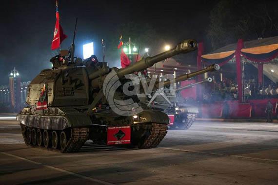 Pháo tự hành 152-mm 2S19M Msta-S.