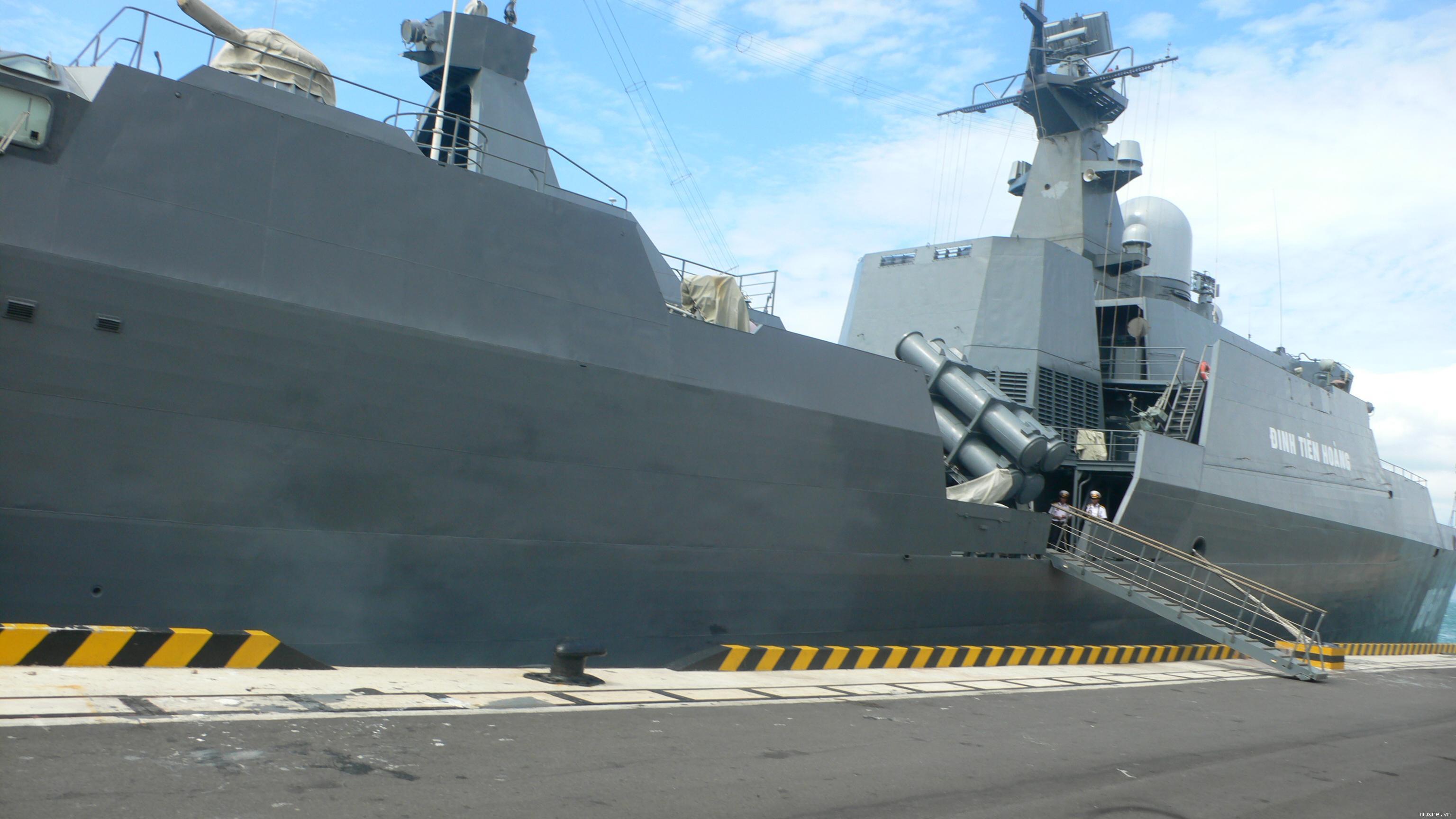 Tàu tên lửa HQ-011 mang tên Đinh Tiên Hoàng